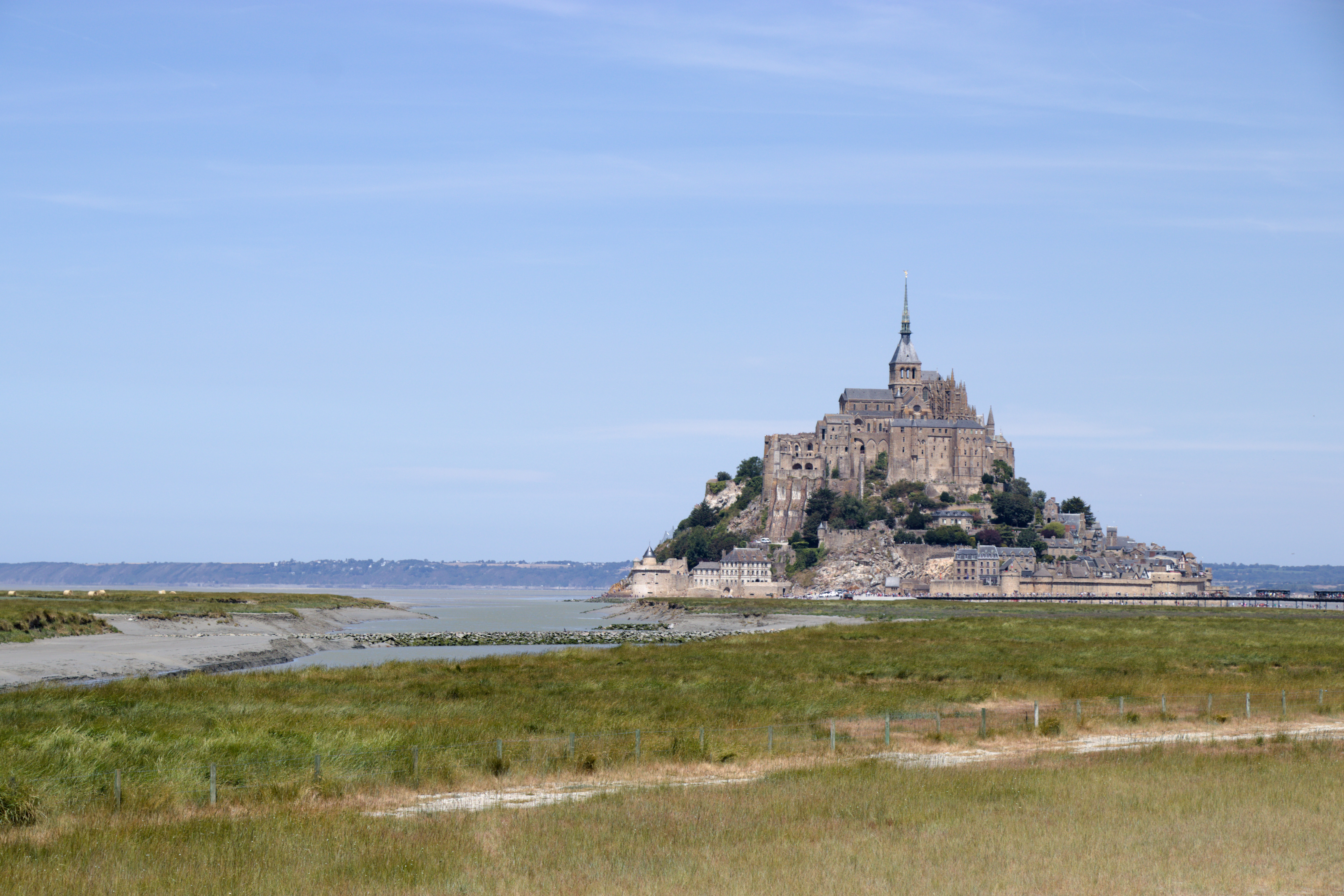 St. Mont Michel Background