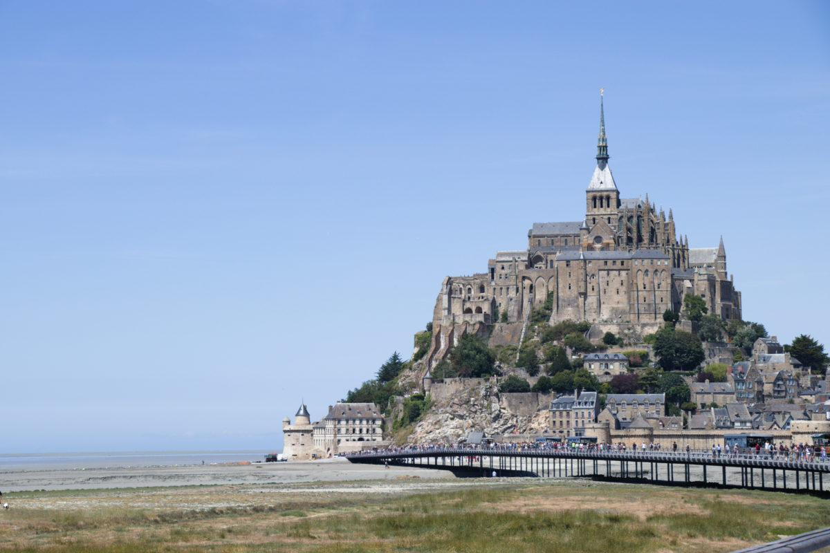 St. Mont Michel Bridge